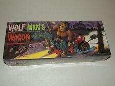 New Sealed 1997 WOLFMAN'S WAGON Polar Lights Monster Model Kit , Model # 5015