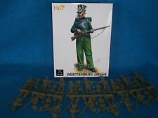 HAT #9306 - 54MM WURTTEMBERG JAEGER NAPOLEONIC WAR INFANTRY Toy Soldiers