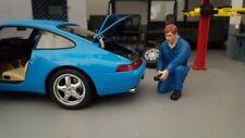 American Diorama 77446 Mechaniker -Tony Aufblasen Reifen 1/1000 1:18