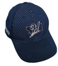 Helena Brewers MiLB Minor League Baseball Hat Cap Pioneer League Promo Blue Mesh