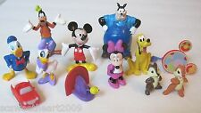 NEW! DISNEY Mickey Mouse Clubhouse 12 PC Figure Play Set Cake Toppers Toodles