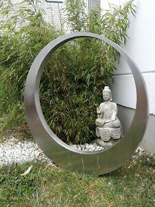 Stainless Steel Garten Stecker Gartenskulptur figure Edelstahl 75*5cm 031510-1S
