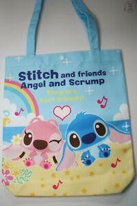 Lilo and Stitch Shopping Bag Disney Cartoon Fabric Nylon Shoulder Beach Large