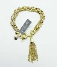 Bracelet by J.CREW Gold Rhinestone Tassel With Tags