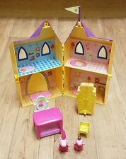 PEPPA PIG ROYAL PRINCESS CASTLE PLAY SET WITH FIGURES AND ACCESSORIES NICK JR.