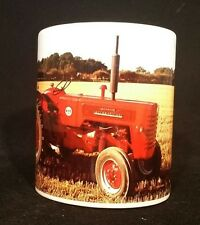 International B250/275   Vintage  Tractor Ploughing Themed Gift Mug