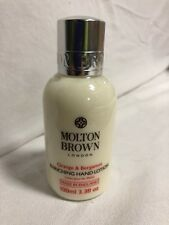MOLTON BROWN ORANGE & BERGAMOT ENRICHING HAND LOTION CREAM 5 X 100 ML 500ML FM16