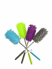 Extendable Microfiber Duster - Washable Top. 1 Unit
