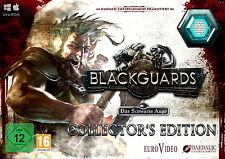 El ojo negra: blackguards-Collector 's Edition (PC, 2014) alemán coleccionista