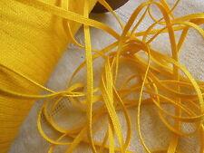biais vintage ruban plat cordon jaune Naples lacet corsage 10 mètre