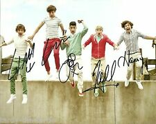 One Direction  #1  8 x 10 Autograph Reprint  Niall,  Zayn,  Liam,  Harry,  Louis
