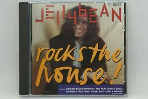 "Jellybean - Rocks The House! CD Album - Best Of 12"" Mixes Hits - RARE!"
