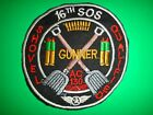 US Air Force Patch 16th Special Operations Squadron GUNNER AC-130 GUNSHIP