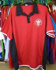 WALES GRAND SLAM WINNERS 2012 POLYESTER RUGBY POLO SHIRT JERSEY TOP 3XL ADULT