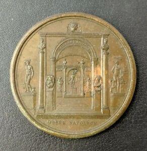 Empire Napoléon Ier Médaille Musée du Louvre Salle d'Apollon 1804