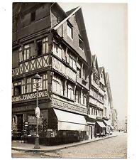U038 Photographie vintage Originale Magasin Chaussures Lisieux Calvados