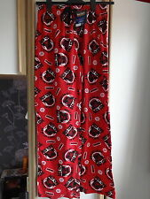 #G12 - Red Star Wars Angry Birds Lounge Pants From F&F - Size S - BNWT