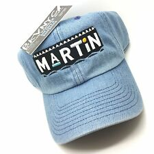 Denim Martin TV Show Dad Cap Hat Exclusive 90s