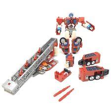 Transformers Optimus Prime RID Super Class Cab Ladder Fire Convoy Electronic