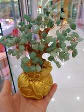 AAA+ Lucky Tree!!! Natural Pretty Green Aventurine Jade Crystal Gem Tree
