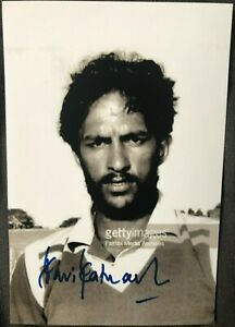 Sri Lanka Cricket Legend Ravi Ratnanayeke Signed Photo