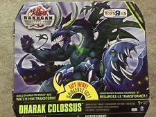NEW RARE Bakugan DHARAK COLOSSUS Gundalian Invaders Complete Unopened TRU Excl