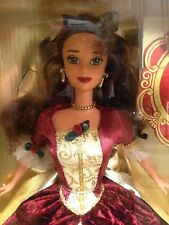 """1997 Holiday Princess """"Belle"""" Special Edition, Disney's Beauty & The Beast, MIB"""