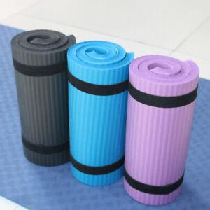 15mm Extra Thick NPR Yoga Mat Pad Portable Pilates Non-Slip Durable Gym Training