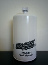 FASS Fuel System FS-1001 HD Series Diesel Fuel Filter and Water Separator