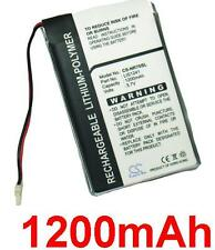 Batterie 1200mAh Sony Clie PEG-NX70, PEG-NR70VL, PEG-NX73V, PEG-NX80