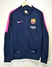 NIKE FCB BARCELONA TRAINING FOOTBALL SOCCER TRACK JACKET TRACKSUIT TOP JERSEY S