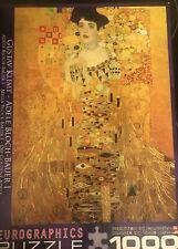 1000 Piece Puzzle Gustav Klimt Adele Blotch Bauer Eurographics Colorful Free Shp