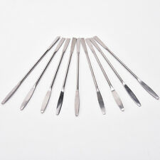 Hot Women Stainless Steel Nail Art Makeup Palette Spatula Tone Rods Tool Q3