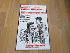 Pauline COLLINS & John ALDERTON in RATTLE of a SIMPLE Man SAVOY Theatre Poster