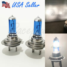 H7 Super White 55W Halogen Xenon 5000K Headlight 12V Light Bulbs #Re12 Low Beam