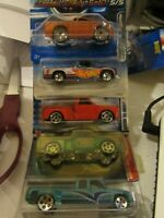 Hot Wheels Lot of (5) Chevy Truck Types!! All Different Lot #12