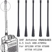 5x UHF Long Antenna for Motorola HT50 HT600 HT750 HT1250 Portable Radio
