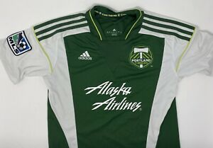 Portland Timbers MLS Jersey Adidas Climacool Youth Large