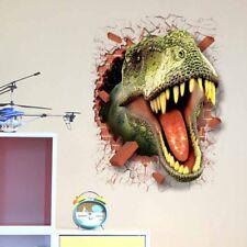 Tyrannosaurus Dinosaur Wall Sticker 3D Painting Wall Art Living Room Decoration