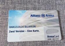 Allianz Arena Card * allererste Karte  * für Sammler ohne Guthaben