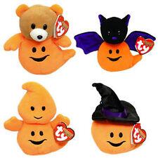 TY Halloweenie Beanie Babies - Halloween 2012 Complete set of 4 -MWMTs Halloween