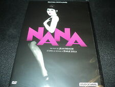 "DVD NEUF ""NANA"" film muet de Jean Renoir"