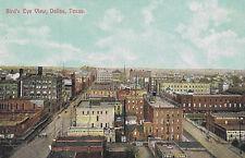 Postcard-Bird's Eye View of Dallas, Tx