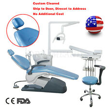 New Listingdental Chair Unit Computer Control Hard Leather Chair Amp Stool Home Delivery