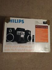 Philips DC146 MP3 micro with iPod dock Audio Shelf System