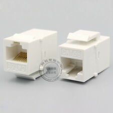 RJ45 Cat5e Network Information Module Connector Socket Outlet Module Adapter