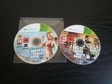 *Discs Only* Grand Theft Auto 5 V Xbox 360 Adventure Video Game PAL