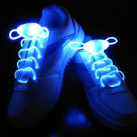 LED Shoelace Party Flash Light Up Waterproof Glow Stick Shoestring Fashion