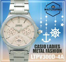 Casio Ladies' Standard Analog Watch LTPV300D-4A LTP-V300D-4A