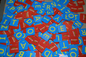Scrabble Junior Game Edition Replacement Pieces & Parts Snap 2016 Hasbro